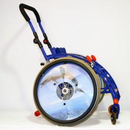 Dětský invalidní vozík