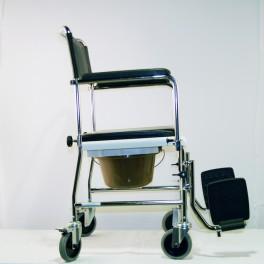 Toaletní židle pojízdná